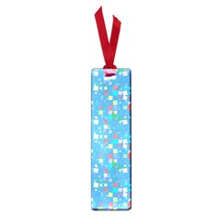 Colorful squares pattern Small Book Mark