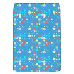 Colorful squares pattern Removable Flap Cover (Large)
