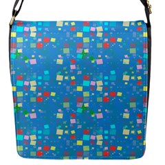 Colorful Squares Pattern Removable Flap Cover (small)