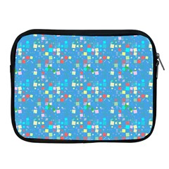 Colorful Squares Pattern Apple Ipad 2/3/4 Zipper Case