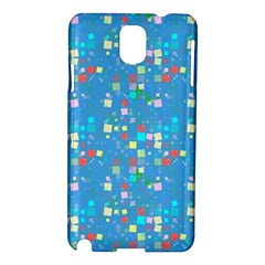 Colorful Squares Pattern Samsung Galaxy Note 3 N9005 Hardshell Case