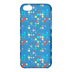 Colorful Squares Pattern Apple Iphone 5c Hardshell Case