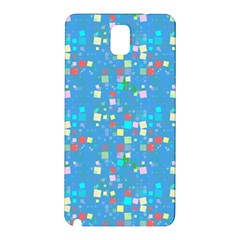 Colorful Squares Pattern Samsung Galaxy Note 3 N9005 Hardshell Back Case