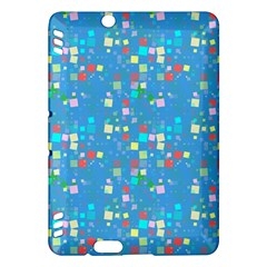 Colorful Squares Pattern Kindle Fire Hdx Hardshell Case