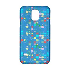 Colorful Squares Pattern Samsung Galaxy S5 Hardshell Case