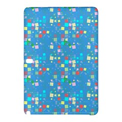 Colorful squares pattern Samsung Galaxy Tab Pro 10.1 Hardshell Case