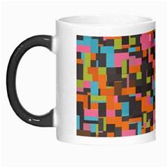 Colorful Pixels Morph Mug