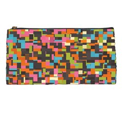 Colorful Pixels Pencil Case
