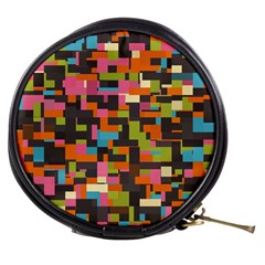 Colorful Pixels Mini Makeup Bag