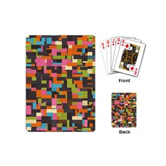 Colorful Pixels Playing Cards (mini)