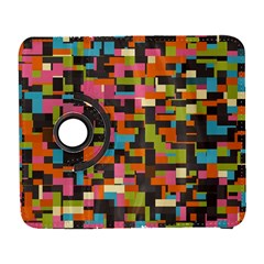 Colorful pixels Samsung Galaxy S  III Flip 360 Case