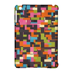 Colorful pixels Apple iPad Mini Hardshell Case (Compatible with Smart Cover)