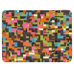 Colorful pixels Samsung Galaxy Tab 7  P1000 Flip Case