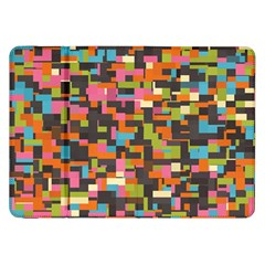 Colorful pixels Samsung Galaxy Tab 8.9  P7300 Flip Case
