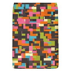 Colorful Pixels Removable Flap Cover (large)