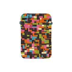 Colorful Pixels Apple Ipad Mini Protective Soft Case