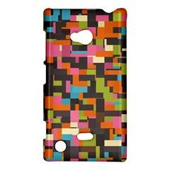 Colorful Pixels Nokia Lumia 720 Hardshell Case