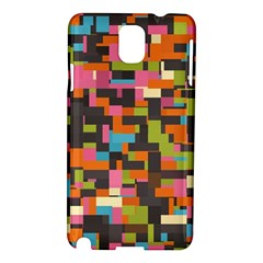 Colorful Pixels Samsung Galaxy Note 3 N9005 Hardshell Case