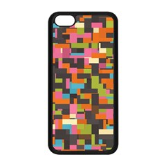 Colorful Pixels Apple Iphone 5c Seamless Case (black)
