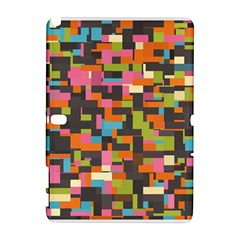 Colorful pixels Samsung Galaxy Note 10.1 (P600) Hardshell Case