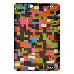 Colorful Pixels Kindle Fire Hd (2013) Hardshell Case
