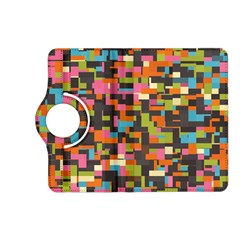 Colorful Pixels Kindle Fire Hd (2013) Flip 360 Case
