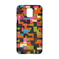 Colorful pixels Samsung Galaxy S5 Hardshell Case