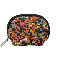 Colorful Pixels Accessory Pouch (small)