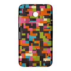 Colorful pixels Nokia Lumia 630 Hardshell Case