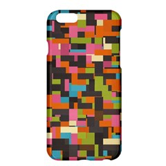 Colorful pixels Apple iPhone 6 Plus Hardshell Case