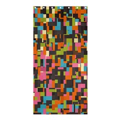 Colorful pixels Shower Curtain 36  x 72  (Stall)