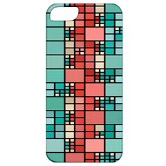 Red And Green Squares Apple Iphone 5 Classic Hardshell Case