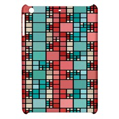 Red And Green Squares Apple Ipad Mini Hardshell Case