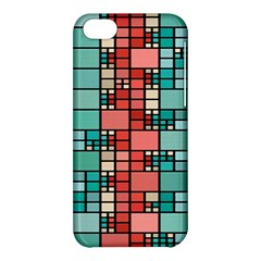Red And Green Squares Apple Iphone 5c Hardshell Case