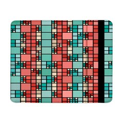 Red and green squares Samsung Galaxy Tab Pro 8.4  Flip Case