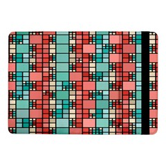 Red and green squares Samsung Galaxy Tab Pro 10.1  Flip Case