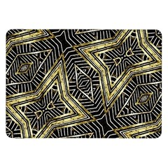 Geometric Tribal Golden Pattern Print Samsung Galaxy Tab 8 9  P7300 Flip Case