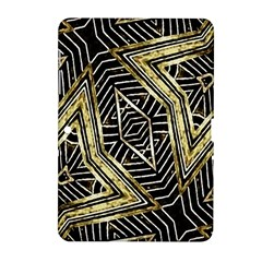 Geometric Tribal Golden Pattern Print Samsung Galaxy Tab 2 (10 1 ) P5100 Hardshell Case
