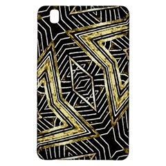 Geometric Tribal Golden Pattern Print Samsung Galaxy Tab Pro 8.4 Hardshell Case