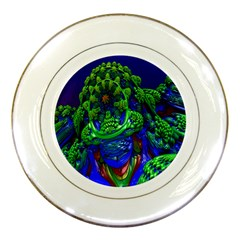 Abstract 1x Porcelain Display Plate