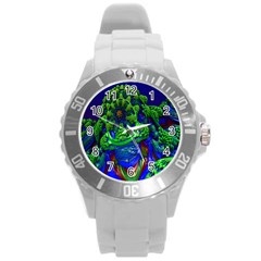 Abstract 1x Plastic Sport Watch (large)
