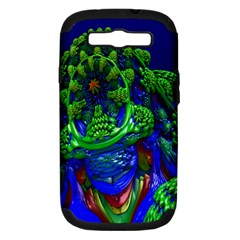 Abstract 1x Samsung Galaxy S Iii Hardshell Case (pc+silicone)