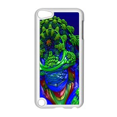 Abstract 1x Apple iPod Touch 5 Case (White)