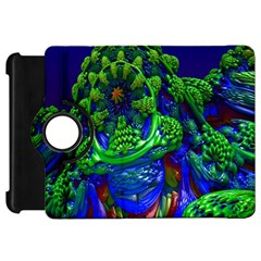 Abstract 1x Kindle Fire HD Flip 360 Case