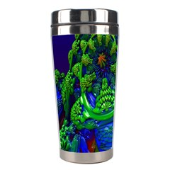 Abstract 1x Stainless Steel Travel Tumbler