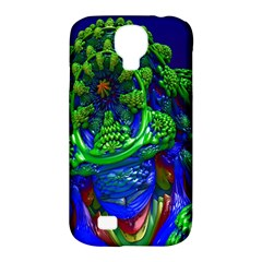 Abstract 1x Samsung Galaxy S4 Classic Hardshell Case (pc+silicone)