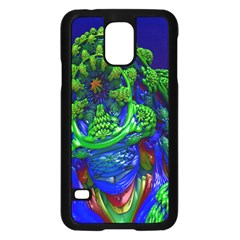 Abstract 1x Samsung Galaxy S5 Case (Black)