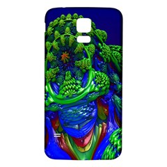 Abstract 1x Samsung Galaxy S5 Back Case (White)