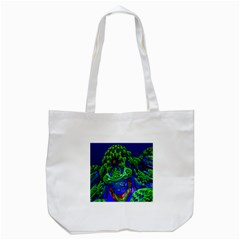 Abstract 1x Tote Bag (White)