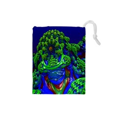 Abstract 1x Drawstring Pouch (Small)